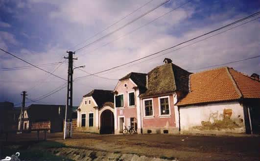 The german colonists the universitas saxorum - Saxon style houses in transylvania ...